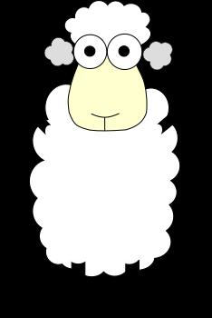 Schaf Ohrstöpsel